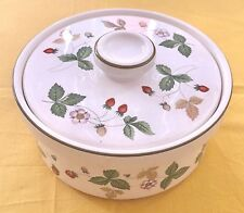 Wedgwood Wild Strawberry Oven To Table 13cm Casserole with Lid LN