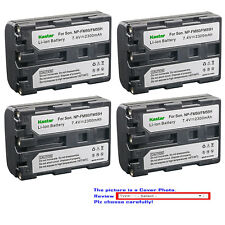 Kastar Replacement Battery for Sony NP-FM50 NPFM55H & Cyber-shot DSC-F828 DSC-R1