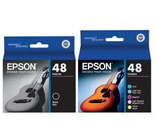 New Genuine Epson 48 6PK Ink Cartridges RX Series RX500 RX600 Stylus R200