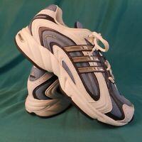 Adidas Adiprene Women's Training Shoes Size 9 White/Blue YYA606001