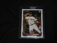 2012 Bowman Draft #40 Will Middlebrooks Rookie Red Sox
