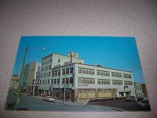 1950s KNOX HOTEL & GREYHOUND BUS DEPOT EL PASO TEXAS TX. VTG POSTCARD