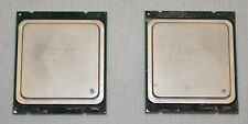 *Lot of 2* Intel Xeon E5-2643 3.3GHZ Sandy Bridge EP Processor *Used, Working*