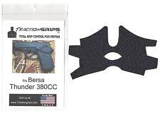 Black Tractiongrips grip tape overlay for Bersa Thunder 380CC / rubber grips
