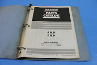 OEM MERCURY Quicksilver 1993 Parts Catalog 4 5 HP S/N A855097 PT# 90-815128