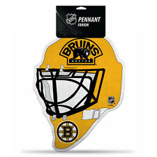 Boston Bruins Die Cut Felt Pennant [NEW] NHL Sign Wall Man Cave Mask