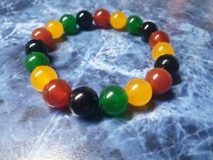 Rasta Gemstone Bracelet Jewellery Africa