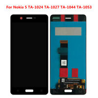 New BLACK LCD Display Touch Screen Digitizer Assembly Replacement For Nokia 5