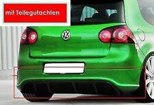 HECKANSATZ für VW GOLF 5 V Clean R32 GTI GT GTD Stoßstange Heckschürze ED 30 ABS