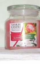 Yankee Candle Home Classics Summer Swirl Volcano Flower Blooming Jasmine 13 oz