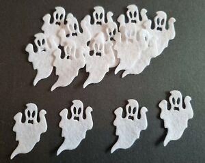 Felt Ghost Embellishments. die cuts. Halloween  die cuts