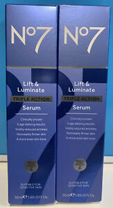 2XNO7 LIFT &LUMINATE TRIPLE ACTION SERUM Wrinkle Visibly Reduced 2W Sensitive