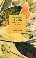 The Journal of Henry David Thoreau, 1837-1861 (New York Review Books Classics),