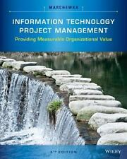 Information Technology Project Management by Jack T. Marchewka (2016, CD-ROM...