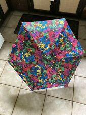 "Totes Elements Fashion Edition Manual Umbrella Peace Symbol 30"" Diameter"