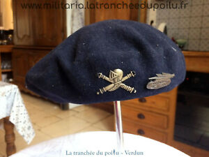 béret char de combat français 39/45 WW2