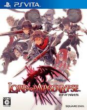 Used PS VITA Lord of Apocalypse JAPAN IMPORT