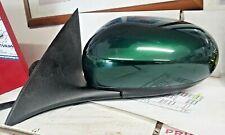 2002-2008 JAGUAR X-TYPE LEFT DRIVER SIDE POWER SIDE DOOR MIRROR(Green metallic)