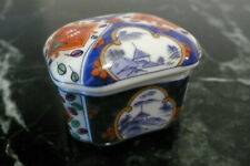 Takahashi San Francisco Small Trinket Box Japan Flower Floral 2X2