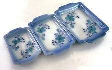Set of 3 Hand Painted Baking Pan/Tray Dollhouse Miniatures Supply Deco Mix Size