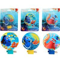 Disney Finding Dory Nemo Octopus Kids Adjustable Night Light Lamp w/ Bulb NEW