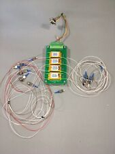 Lot Of 4 Sercalo SW1x2-9N-12-16 Fiber Optic 1x2 Switch Splitter Assembly  *