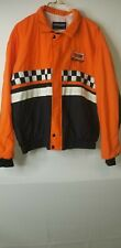 Swingster mens jacket yellow racing #19 size large