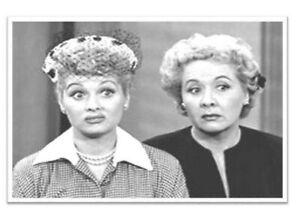 I Love Lucy Lucille Ball Ethel Mertz Retro Nostalgic Refrigerator Locker Magnet