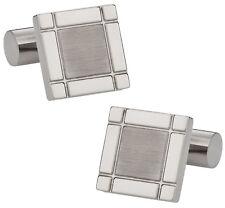 Titanium Square Cufflinks Direct from Cuff-Daddy