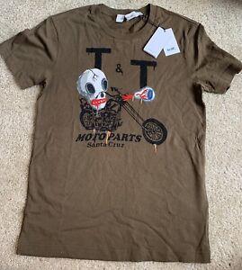 COACH  Men's Coach x Gary Baseman The Military Wild Moto T-shirt ( X-small) New