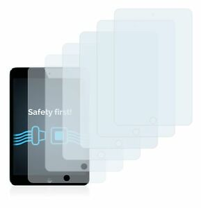 Apple iPad Mini, 6 x Transparent ULTRA Clear Screen Protector