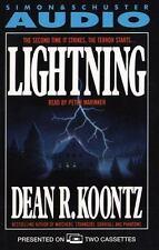 Lightning by Dean Koontz (1988, Cassette, Abridged)