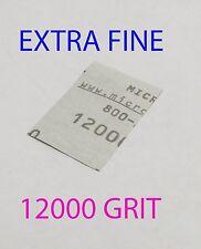 "Micro-Mesh Finishing  Wet/Dry 1 sheet  2 '' x 3"" 12000 grit Extra Fine SANDPAPER"