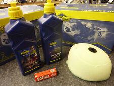 RM 125 250 04-18 MX Service Kit Air Filter Gear Oil Plug 2 Stroke MX5