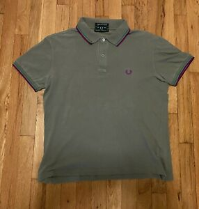 Fred Perry Polo XXL Light And Stretch Green Men's
