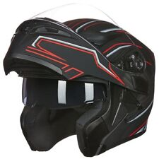 ILM Motorcycle Helmet Modular Helmet Full Face Bike Helmet Snowmobile Helmet DOT