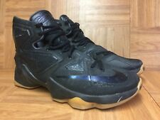 more photos 73653 e60d2 RARE🔥 Nike LeBron 13 XIII BLACK LION Anthracite Gum Sz 11 807219-001 Men s