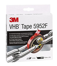 3M VHB 5952 Adhesive Tape / Simple permanent bonding with double coated tape, fi