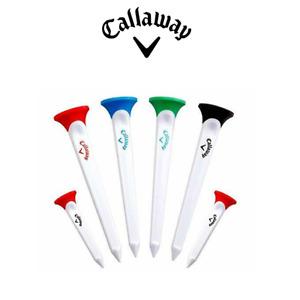 Callaway Par Tee Combo Set Golf Tees  (Set of 6, 4 Longer & 2 Shorter tees)
