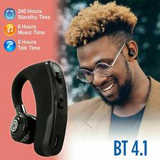 Wireless Bluetooth 4.1 Noise Cancelling Trucker HD Mic Headset Handfree Earphone