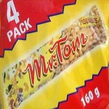 Mr Tom Peanut Bars 4 Pack 160g