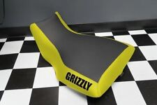 Yamaha Grizzly 660 Yellow Sides Logo Seat Cover #yz77kya77