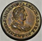 HT-6 Andrew Jackson President of the United States Hard Times Token