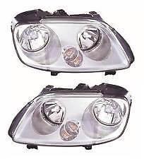 VW CADDY 2004-2010 HEADLIGHT HEADLAMP 1 X PAIR RIGHT LEFT O/S N/S