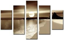 5 Panel Total size 115x80cm Large Digital Canvas Print Wall Art SPLIT