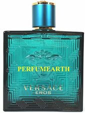 Versace Eros By Versace 3.3/3.4oz. Edt Spray For Men New And Unbox