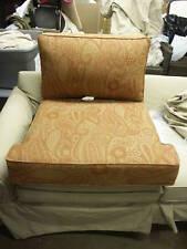 Frontgate Outdoor Cassara Teak Sofa CHAIR Cushion SUNBRELLA Replacement Spice