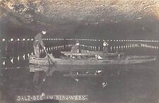 SALZ SEE GERMANY IM BERGWERK REAL PHOTOPOSTCARD c1910s