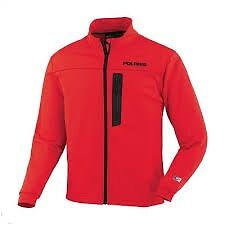 286313906 Men's Polaris Red PURE-DRY MID-LAYER  Snowmobile Shirt LARGE