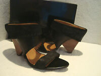 New Miss Sixty Womens Cruella Suede Leather Sandals Shoes Eur 35 US 5 Med